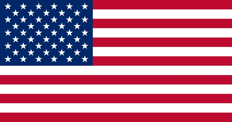 Drapeau des Etas-Unis