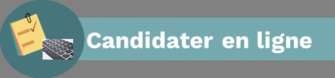 Bouton Candidater en ligne